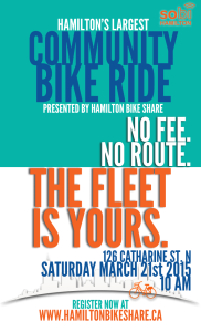 Community Ride Poster